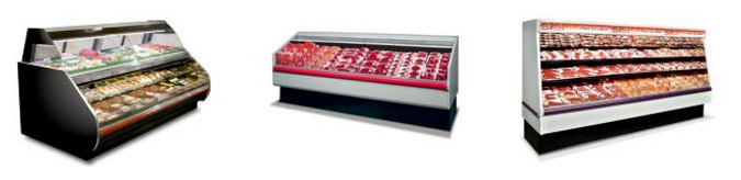 Meat Cases - Refrigeration Equipment